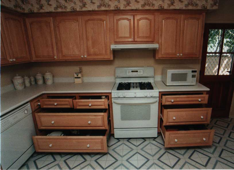 Kitchen Drawers For Pots And Pans pots & pan drawers